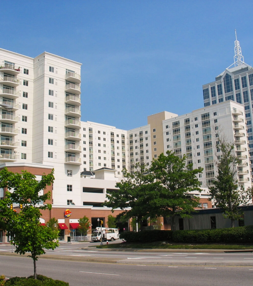 Town Center Apartments: The Cosmopolitan Apartments & Town Center